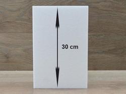 Vierkante taartdummies van 30 cm hoog