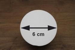 Styropor halbkugel Ø 6 cm