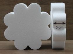 Bloem 8 Blad taartdummies met afgeronde hoek van 5 cm hoog