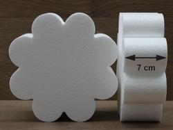 Bloem 8 Blad taartdummies met afgeronde hoek van 7 cm hoog