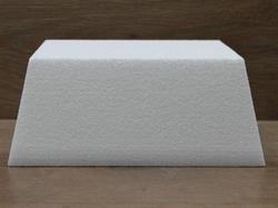 Conisch vierkante taartdummies met afgeronde hoek 10 cm hoog