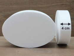 Ovale taartdummies van 4 cm hoog