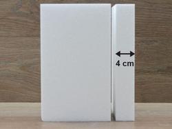 Rechteck Tortendummies von 4 cm hoch