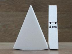 Taartpunt dummies van 4 cm hoog
