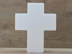 Kruis taartdummie - 40 x 33 cm