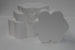 Set taartdummies Bloemvorm 6 blad Set
