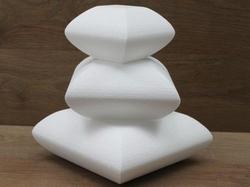 Set kussen taartdummies met afgeronde hoeken
