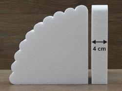 Fächer Tortendummies von 4 cm hoch