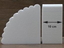 Fächer Tortendummies von 10 cm hoch