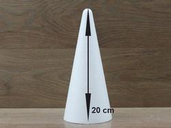Kegel 20 cm hoog
