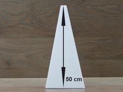"Pyramid 20 x 20 cm - 50 cm (20"") high"