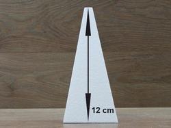 Piramide 6,5 x 6,5 cm - 12 cm hoog