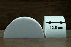 Half ronde taartdummies van 12,5 cm rond