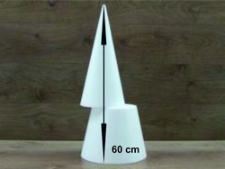 Kegel 60 cm 2-delig