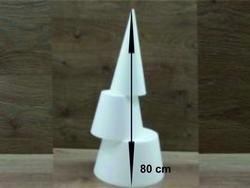 Kegel 80 cm hoog 3-delig