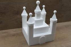 Castle cake dummy set 25 pcs - 30 x 30 cm, 34 cm high