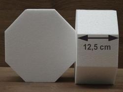 Achthoek taartdummies van 12,5 cm hoog
