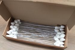 Bloemknop op draad - 30 mm