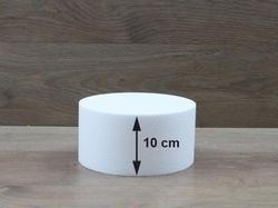 Runde Tortendummies mit Runde Kanten von 10 cm hoch