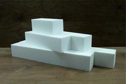 Rechthoekige Staaf 7,5 x 7,5 cm dik