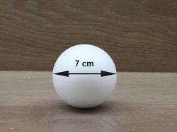 Styropor Kugel Ø 7 cm