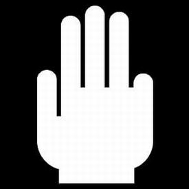 Hand - 4 Vingers