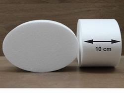 Ovale taartdummies met afgeronde hoek van 10 cm hoog
