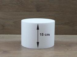 Runde Tortendummies von 15 cm hoch