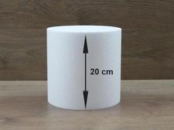 Runde Tortendummies mit Runde Kanten von 20 cm hoch