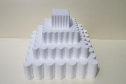 Square Wavy - set of 4