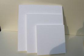 Quadratische Platten für Ständer