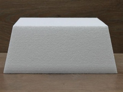 Square Conical / Tapered cake dummies of 10 cm high