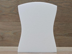 Torso taartdummie - 30 x 23 cm