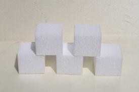 Mini Tortendummies Quadratisch