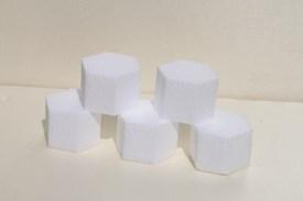 Mini Tortendummies Hexagon
