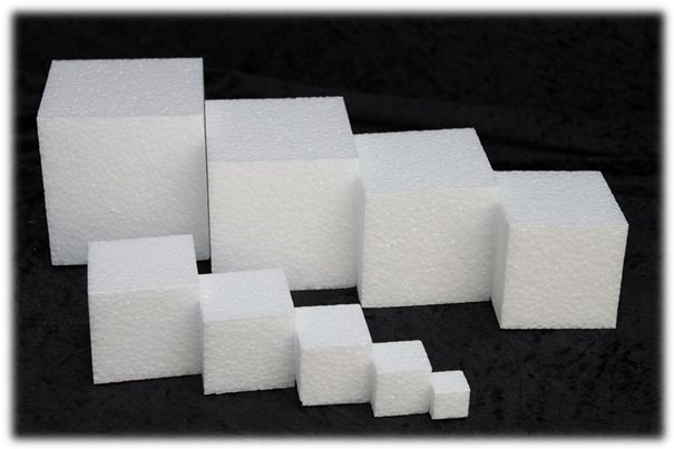 20 x 20 x 20 cm kubus