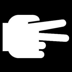 Hand - V Teken