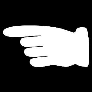 Hand - Wijzend