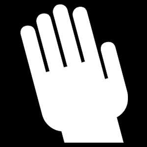 Hand - Winkend