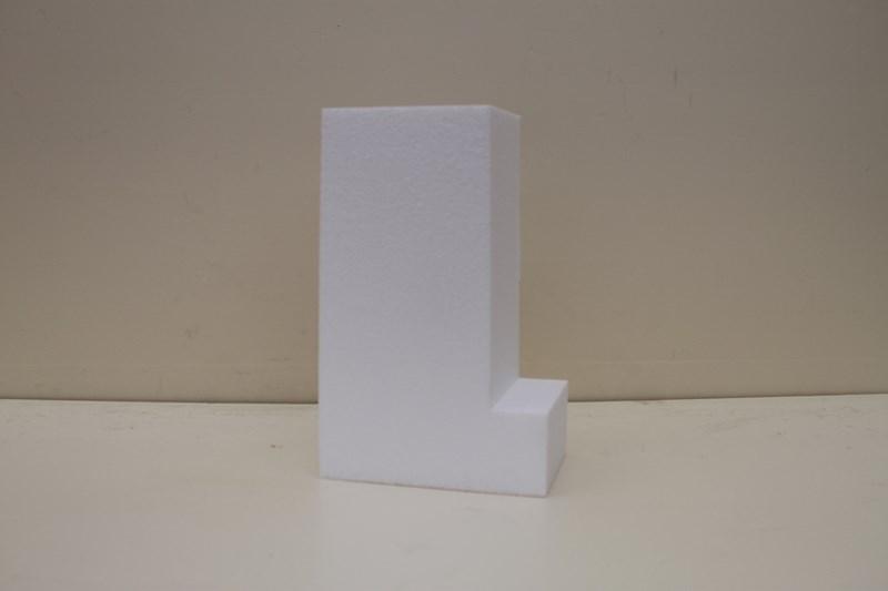 Buchstabe Tortendummies von 4 cm hoch