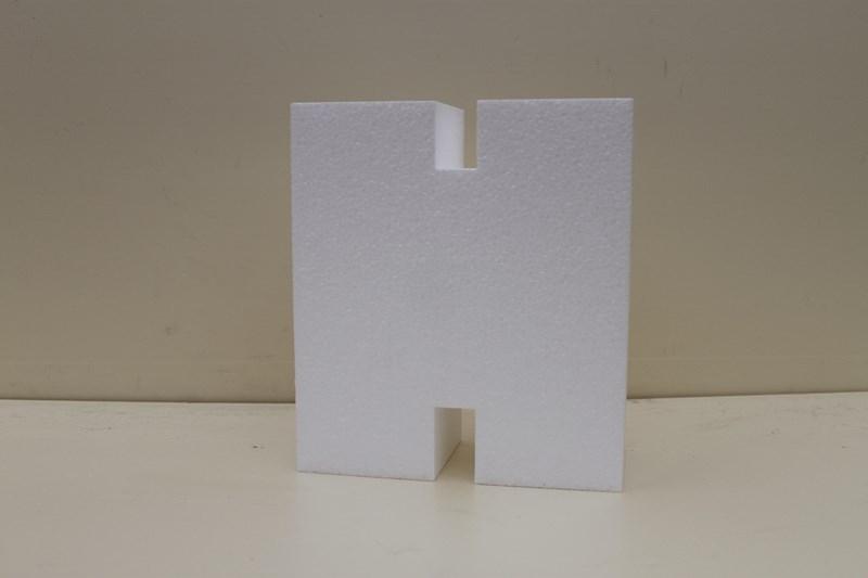Letter taartdummies van 4 cm hoog