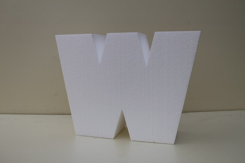 Letter taartdummies van 5 cm hoog