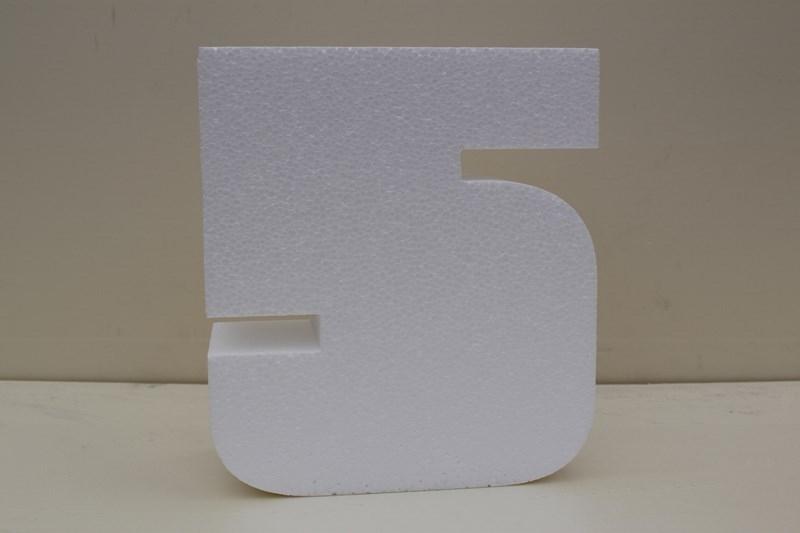 Nummer taartdummies van 7 cm hoog