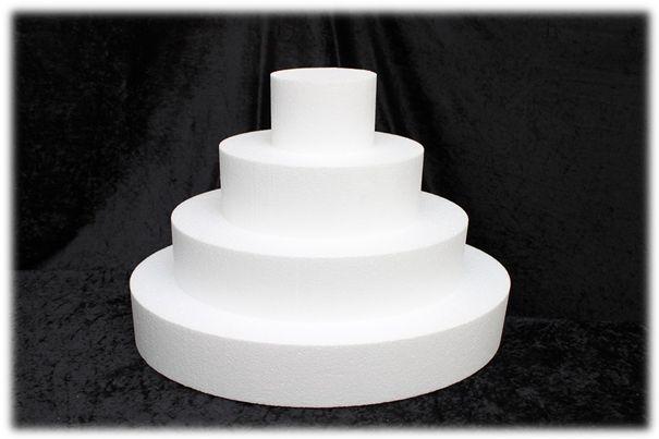 Ovale taartdummies van 10 cm hoog