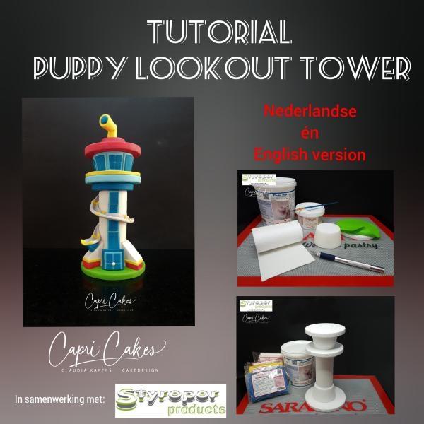 Puppy Lookout Toren 28 cm hoog