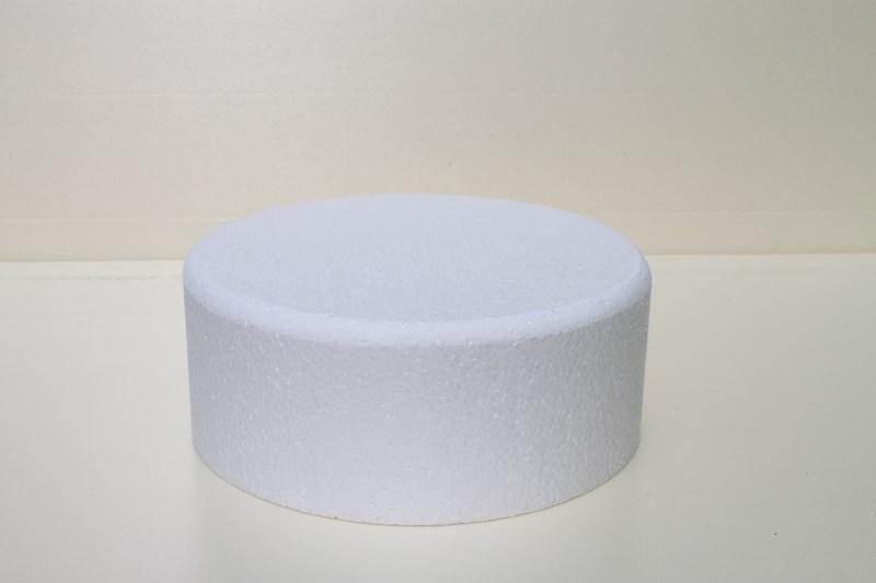 Ronde taartdummies met afgeronde hoek van 10 cm hoog