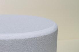 Runde Tortendummies mit Runde Kanten von 12,5 cm hoch
