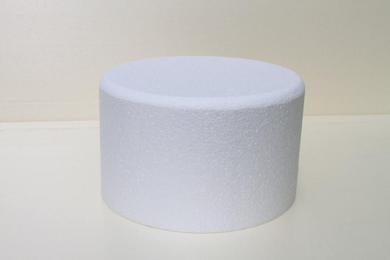 Ronde taartdummies met afgeronde hoek van 15 cm hoog