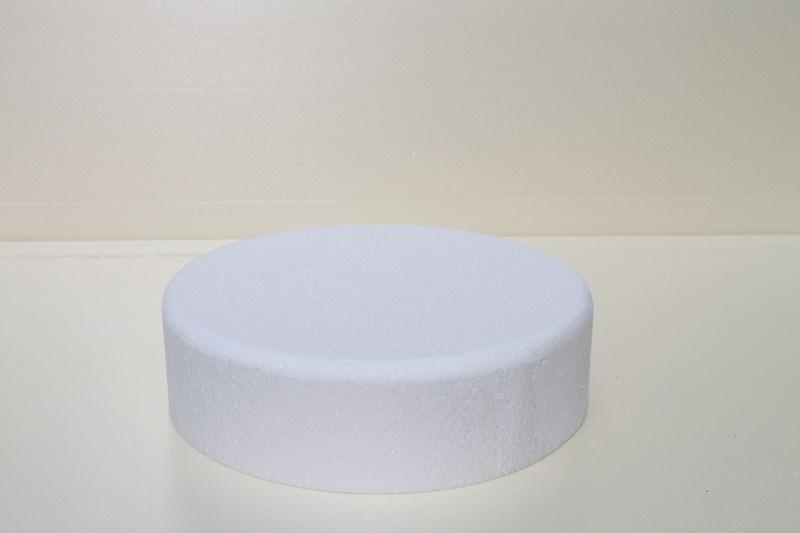 Runde Tortendummies mit Runde Kanten von 7 cm hoch