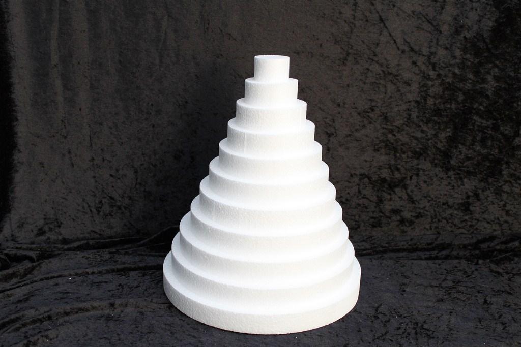 Scheibe rund - dicke 3 cm